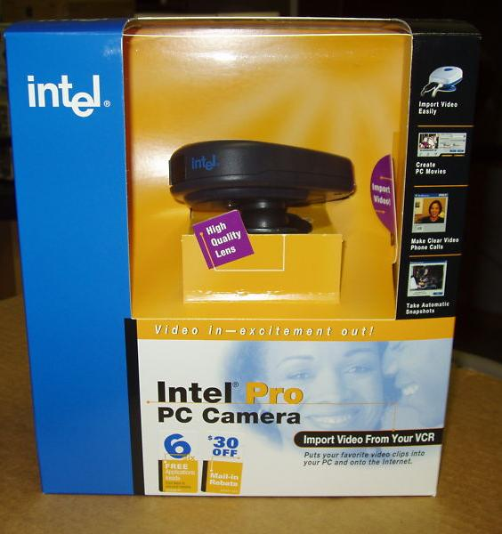 software para camara web intel cs120