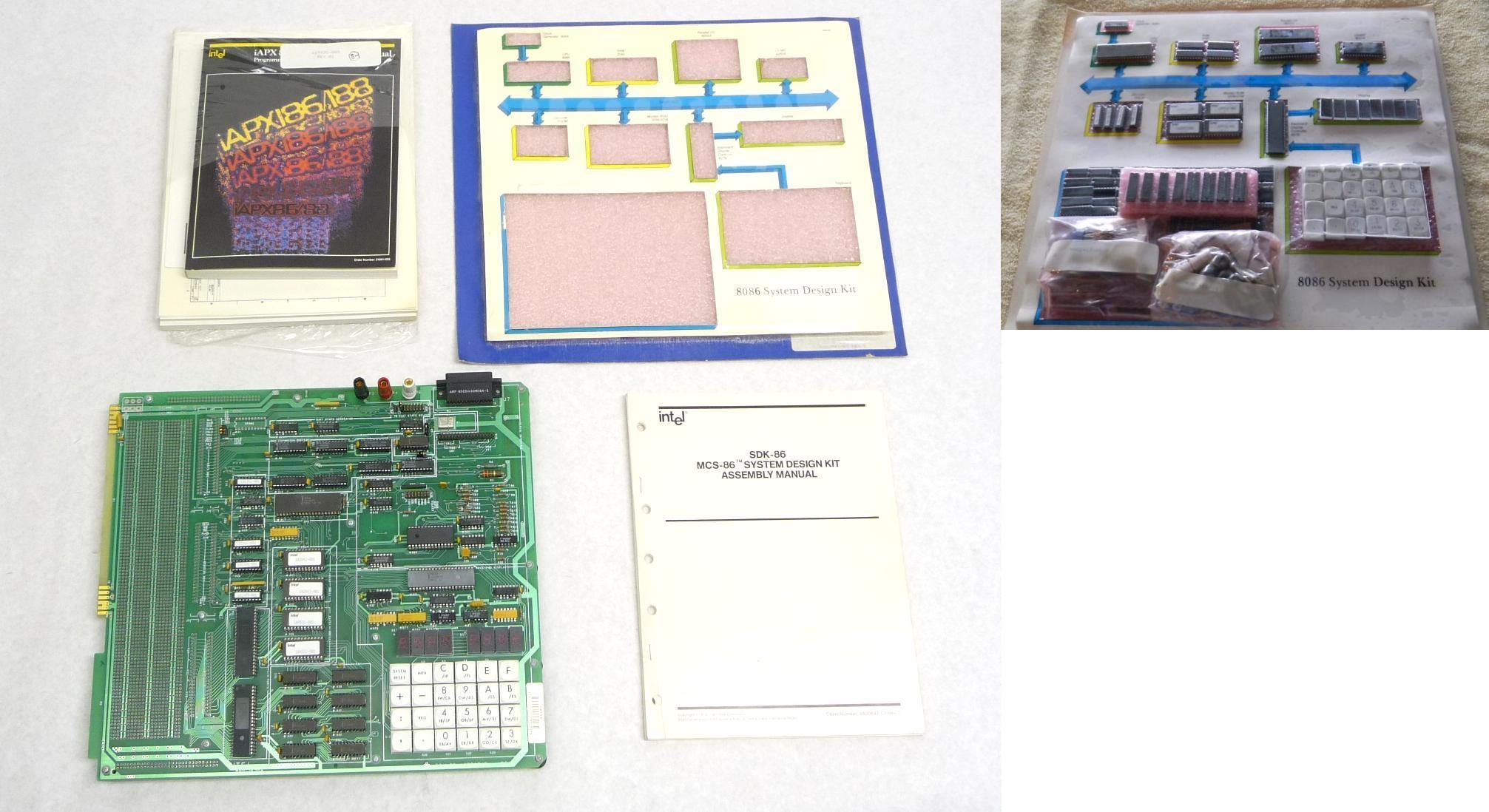 Intel Development Tools Vintage Universal Pic Programmer Circuit Sdk 86